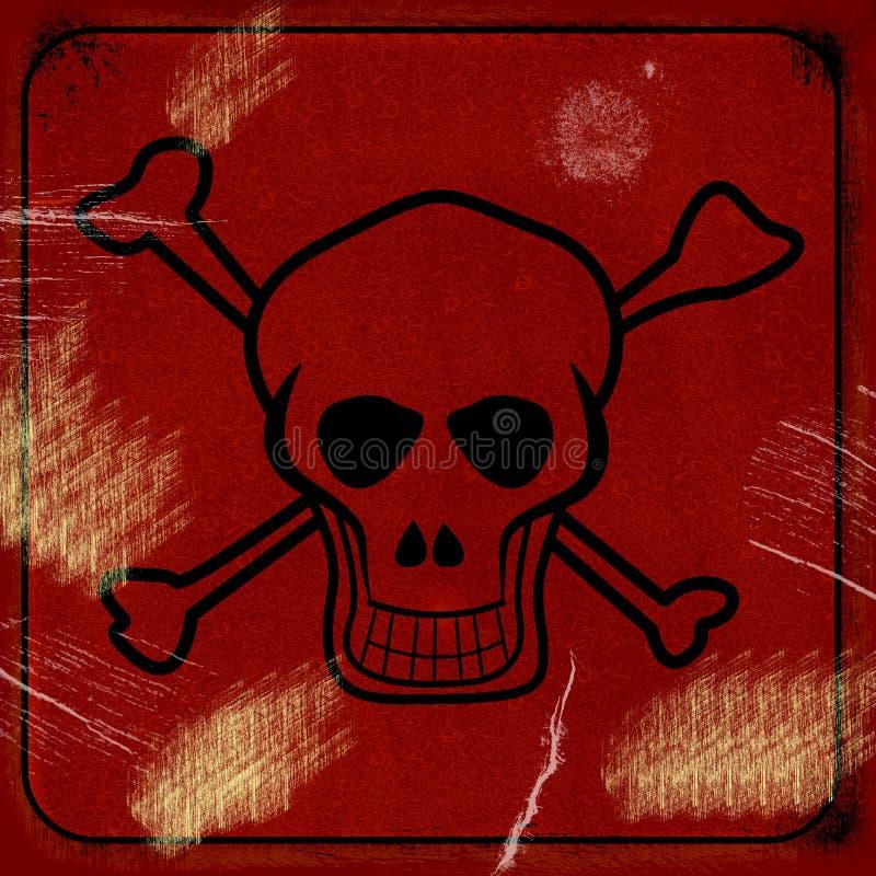 Signe toxique image libre de droits