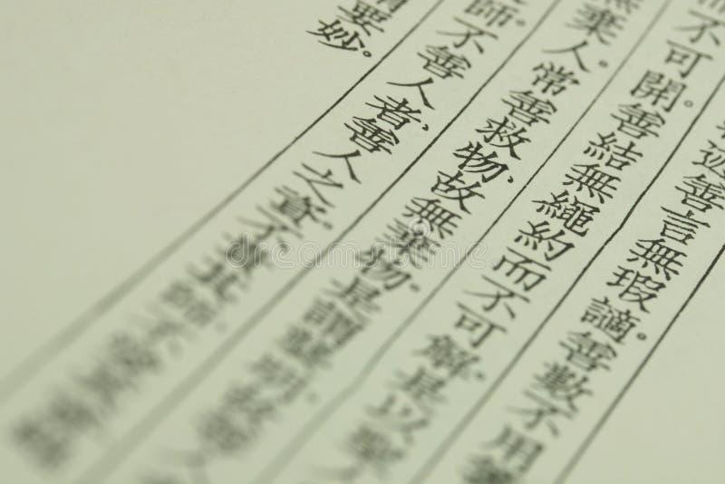 Signes de la Chine image stock
