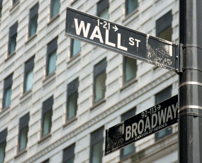 Signes de rue de New York City photo libre de droits