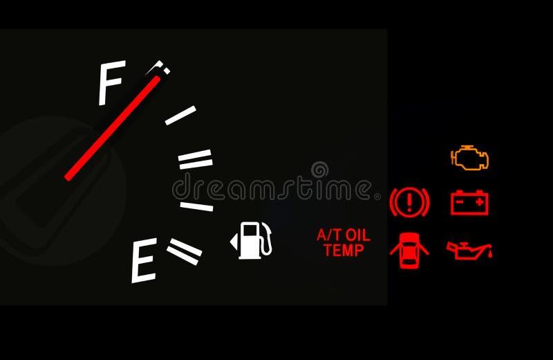Plein symbole de carburant photo stock. Image du automobile - 65391242