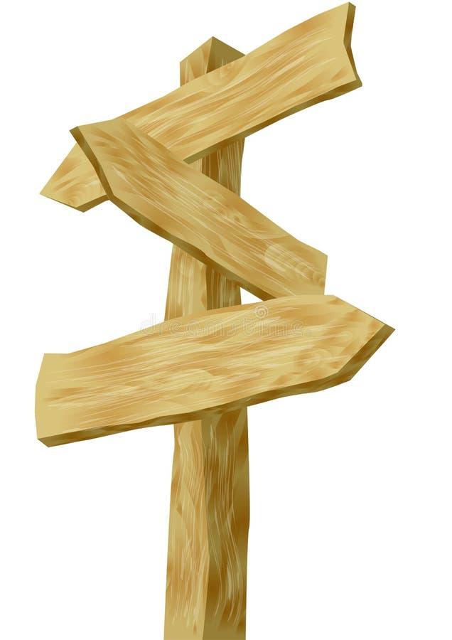 Signes directionnels illustration stock
