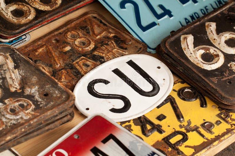 Signes et nombres image libre de droits