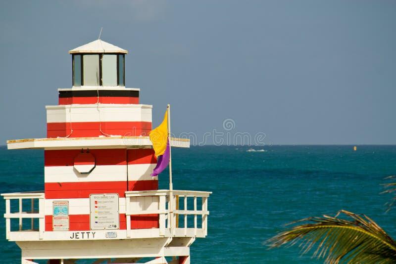 Signes et symboles à Miami image stock