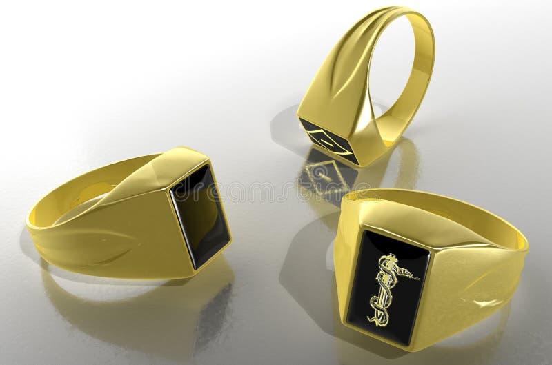 Signet Ring. royalty free stock image