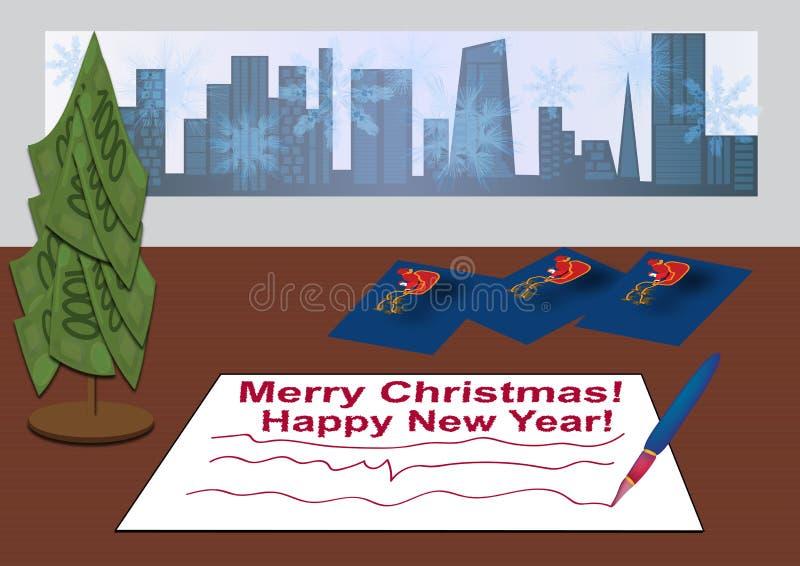 Signing Christmas Cards Stock Photo - Image: 60901262