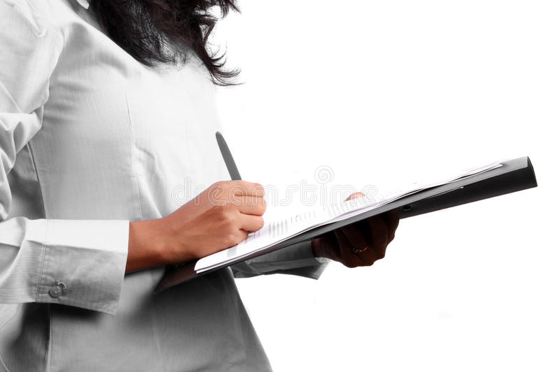 Download Signing A Contract Royalty Free Stock Image - Image: 10841176