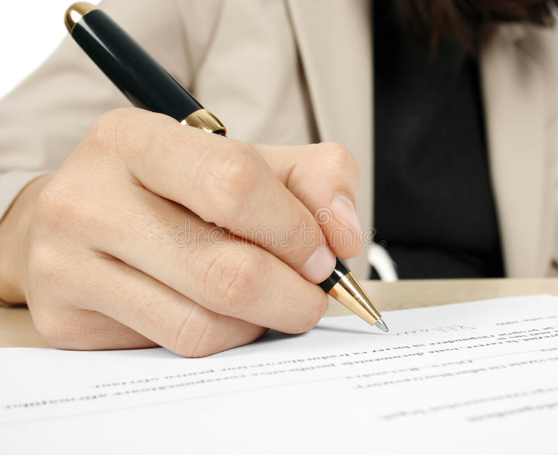 Download Signing the contract stock photo. Image of agree, agreement - 17174914
