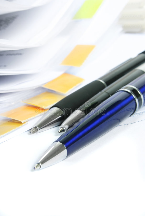 Download Signing a contract. stock image. Image of sign, merger - 3276469