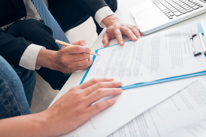 Download Signing a contract stock photo. Image of meeting, male - 34320016
