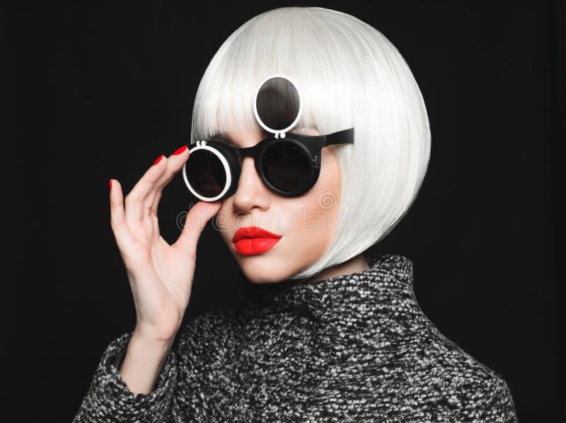 Signora alla moda immagini stock