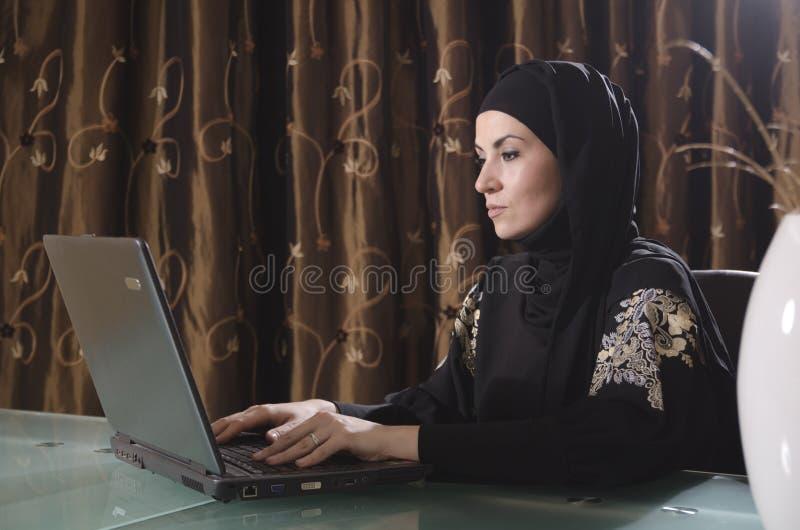Signora araba di bussines fotografia stock libera da diritti