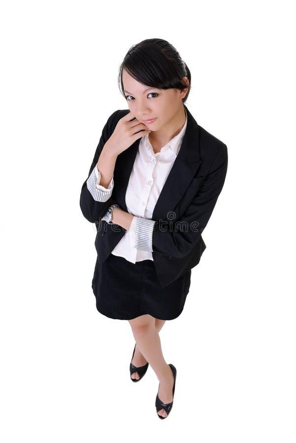 Signora attraente dell'ufficio fotografie stock