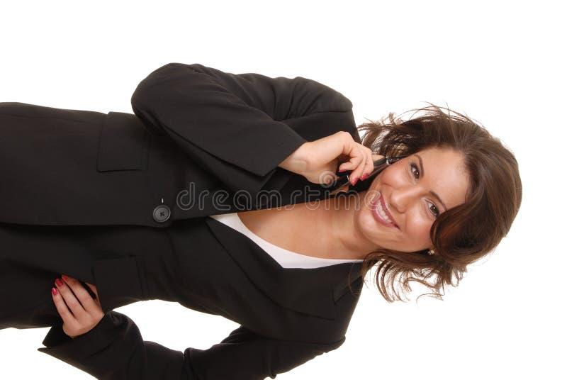 Signora bella 7 di affari fotografia stock