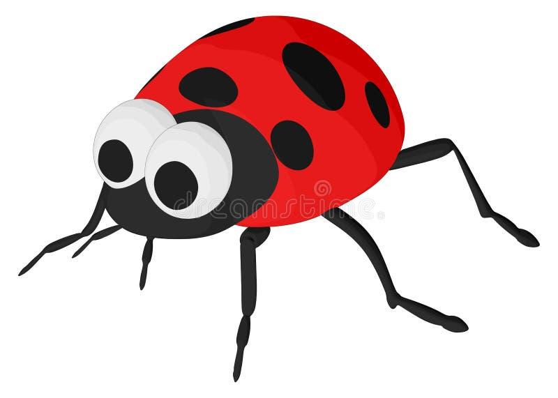 Signora Bug royalty illustrazione gratis