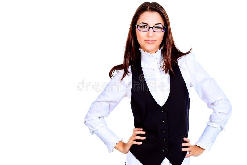 Signora di affari fotografia stock libera da diritti