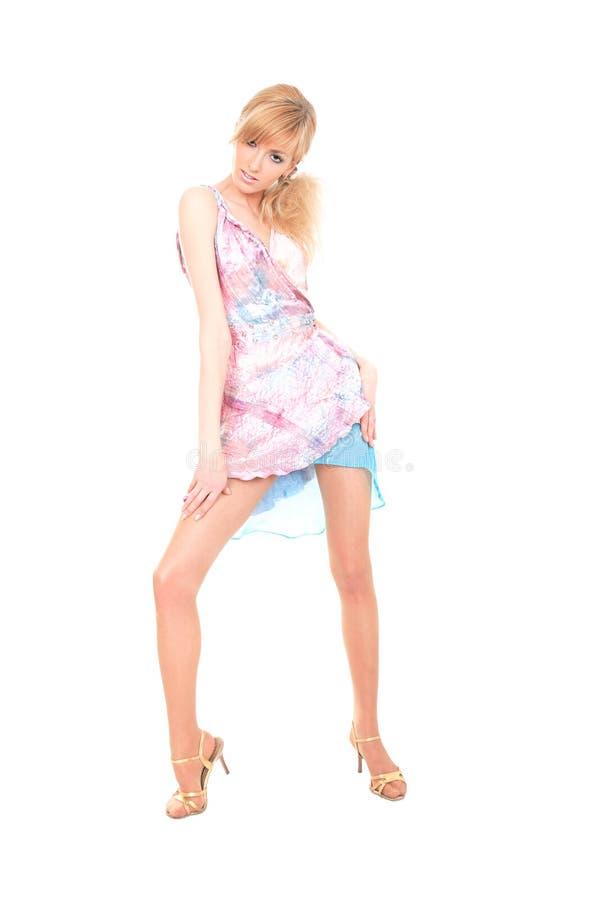 Signora di Dancing immagini stock