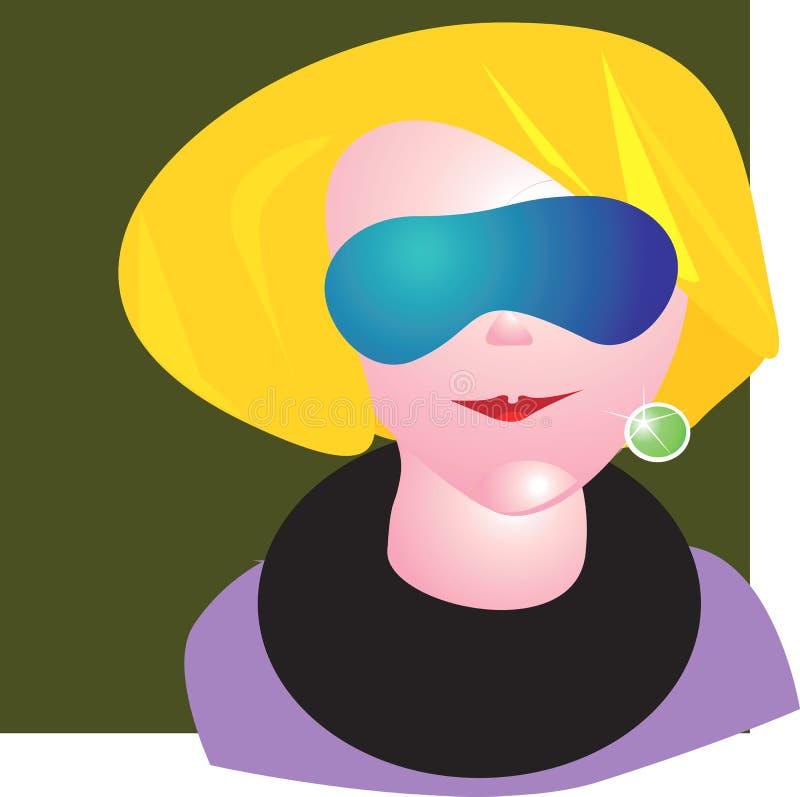 Signora di Morden illustrazione vettoriale