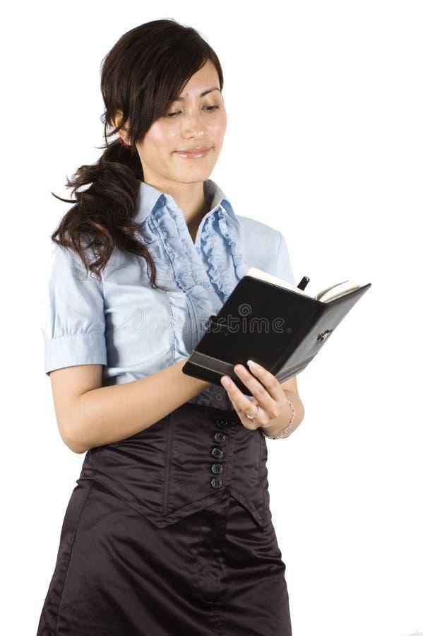 Signora elegante dell'ufficio immagini stock libere da diritti