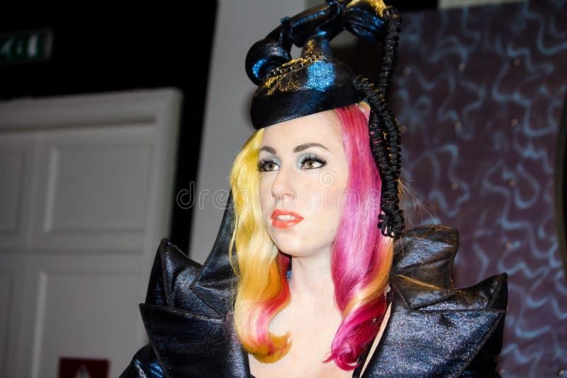 Signora GaGa fotografie stock
