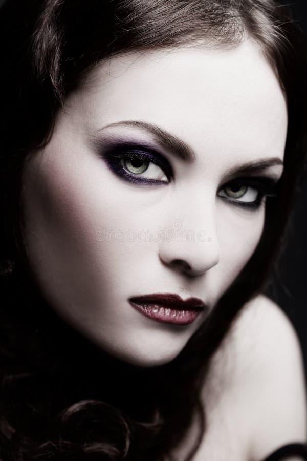 Signora gotica fotografia stock libera da diritti