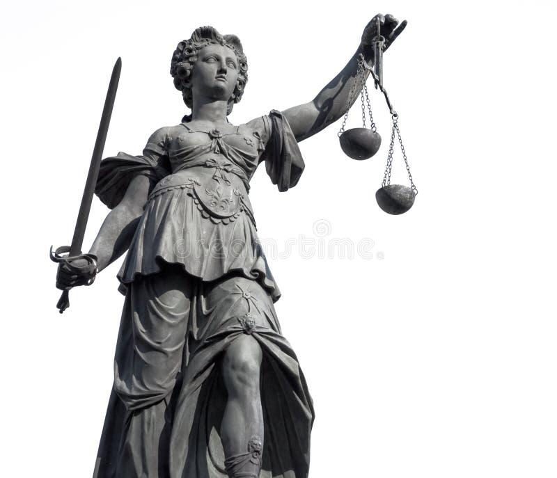 Signora Justice fotografie stock libere da diritti