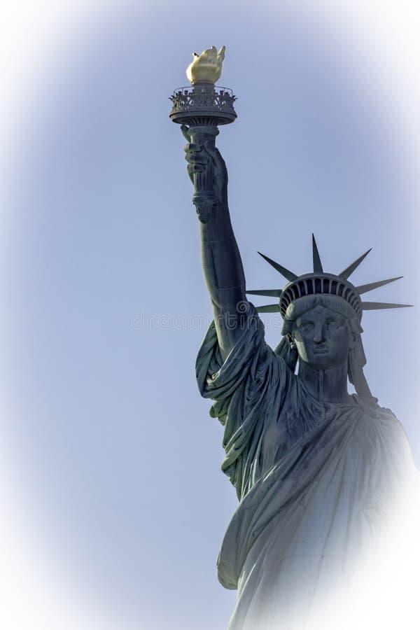 Signora Liberty Vignette Close-Up fotografia stock