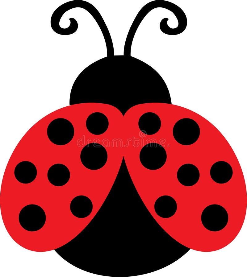 Signora sveglia Bug Clip Art royalty illustrazione gratis