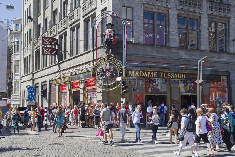 Signora Tussauds a Amsterdam fotografie stock