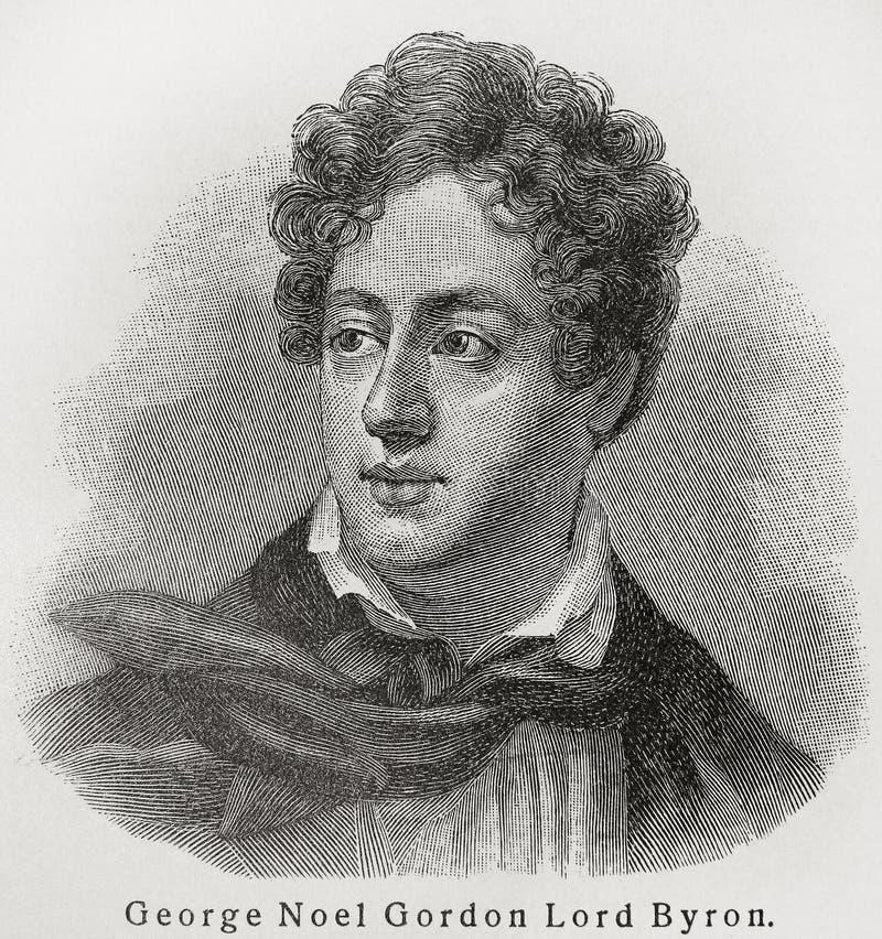 Signore Byron immagine stock