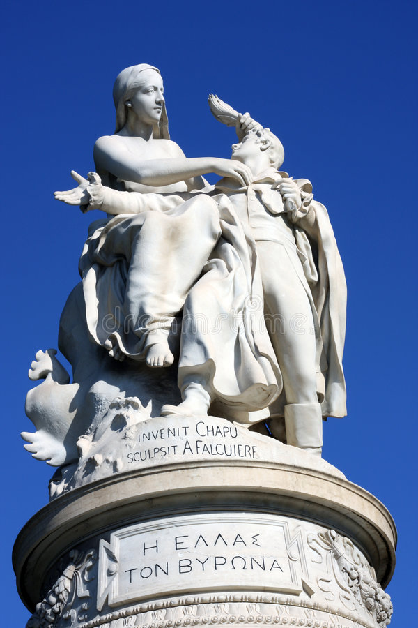Signore Byron Monument fotografie stock