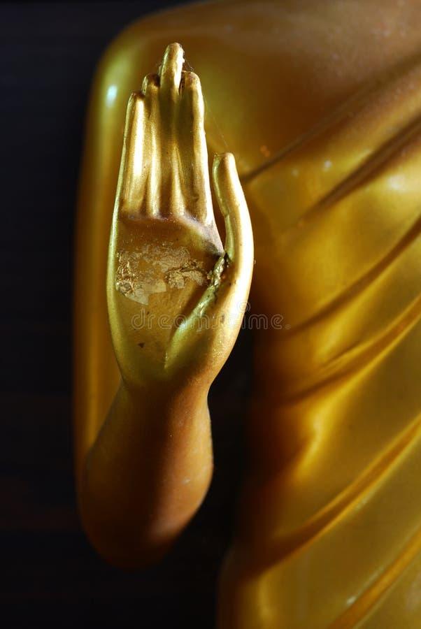 Signore della statua della mano del Buddha. fotografia stock libera da diritti