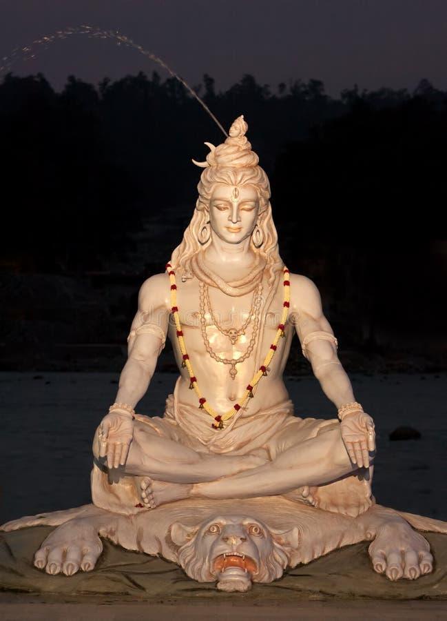 Signore indù Shiva del dio fotografia stock