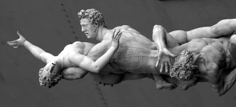 signoria πλατειών της Φλωρεντίας della στοκ φωτογραφία με δικαίωμα ελεύθερης χρήσης