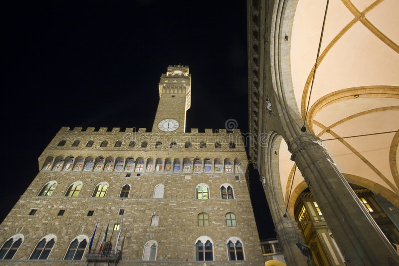 signoria аркады florance della стоковая фотография rf
