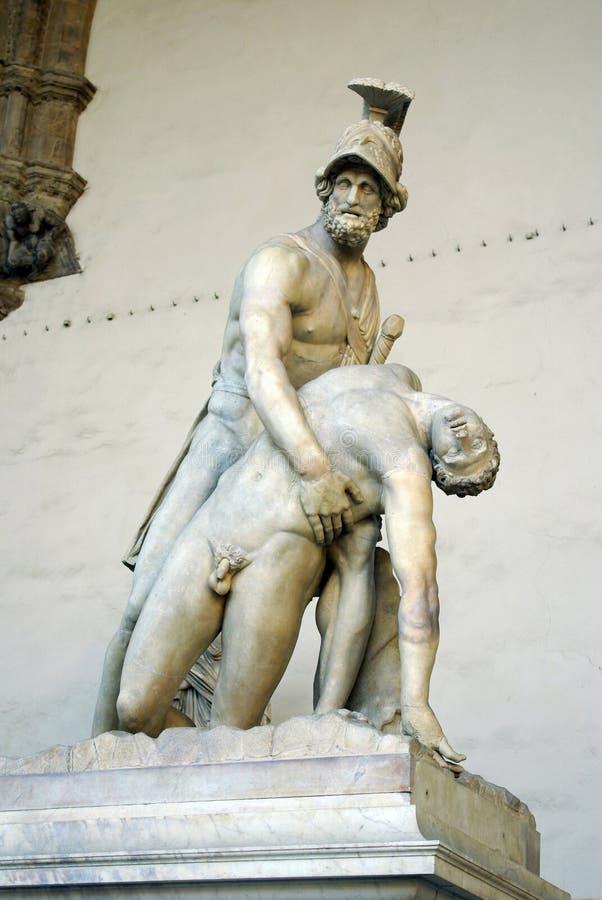 signoria för skulptur för dellaflorence loggia royaltyfri foto