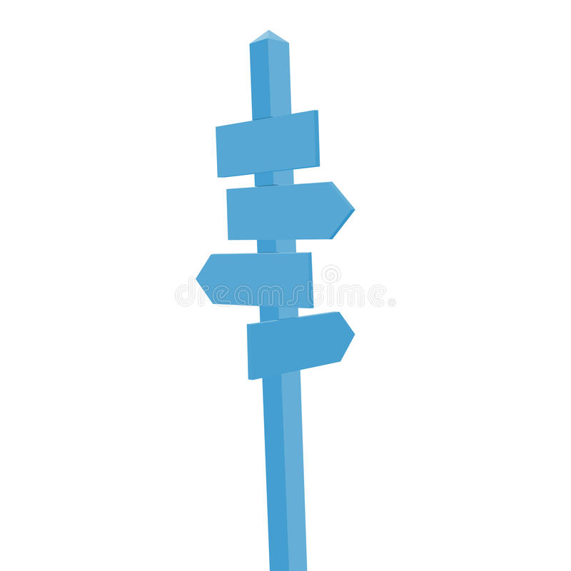 Download Signpost Royalty Free Stock Image - Image: 12484386