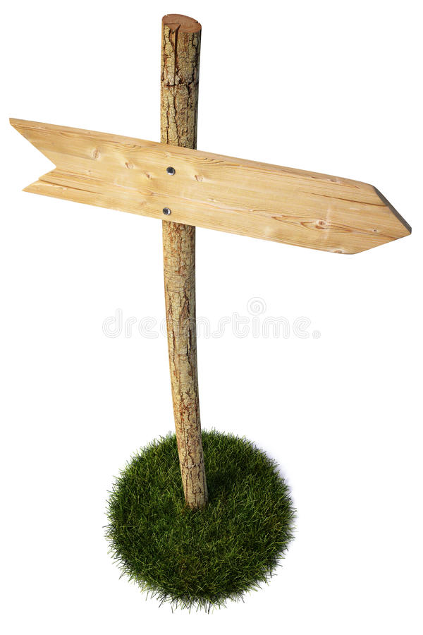 Signpost Royalty Free Stock Photography