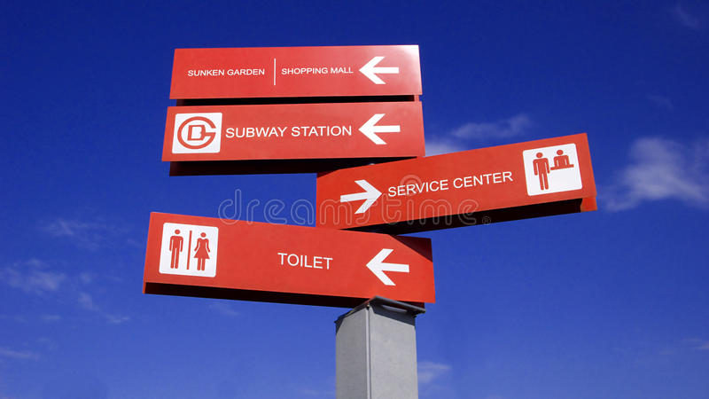 Signpost royalty free stock image