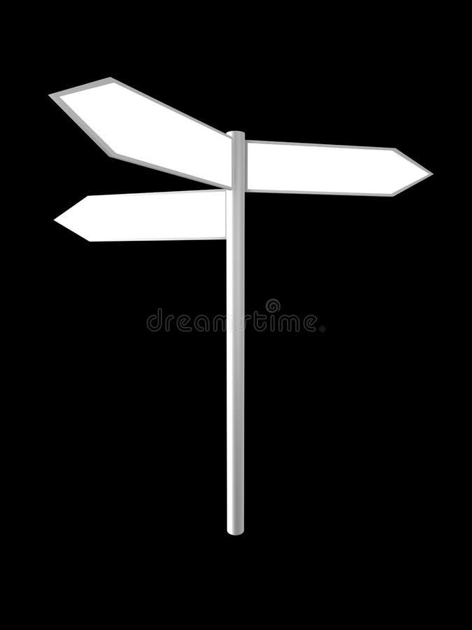 Signpost ilustração do vetor