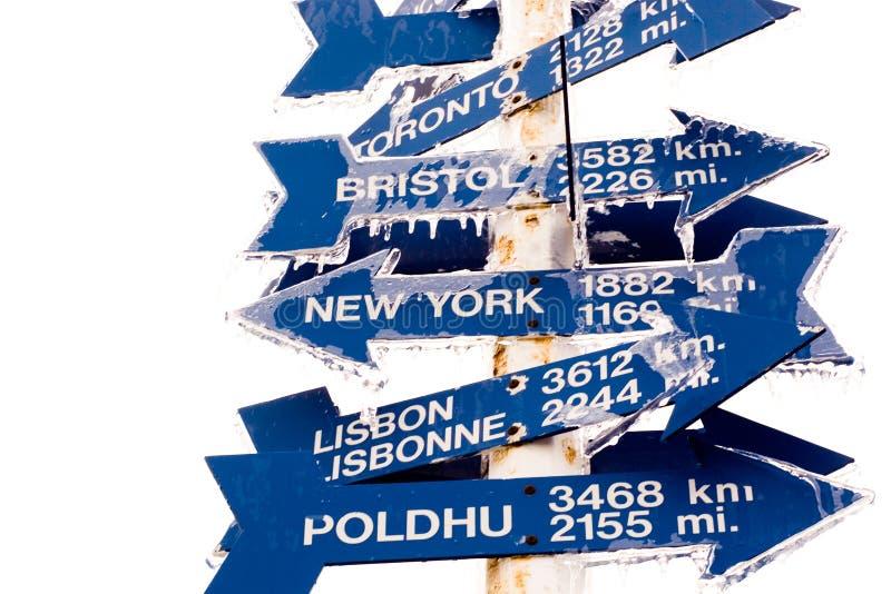 Signpost Royalty Free Stock Photos