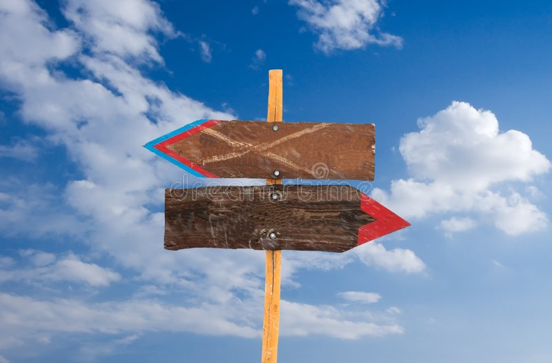 Signpost lizenzfreie stockbilder