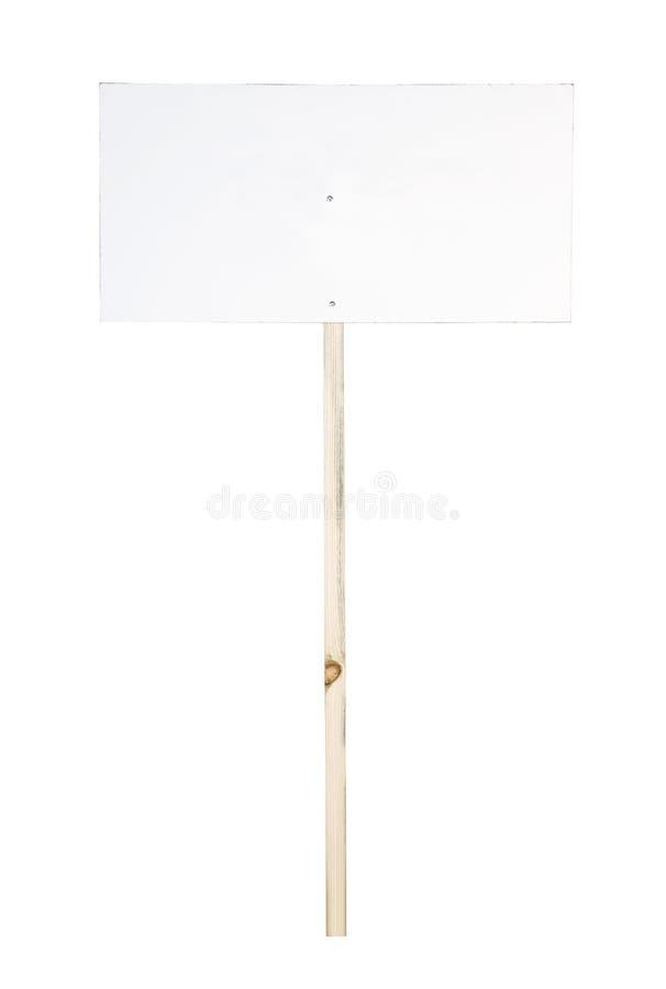Signpost in bianco immagini stock