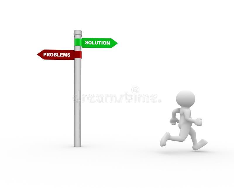 Download Signpost stock illustration. Illustration of post, change - 39513098