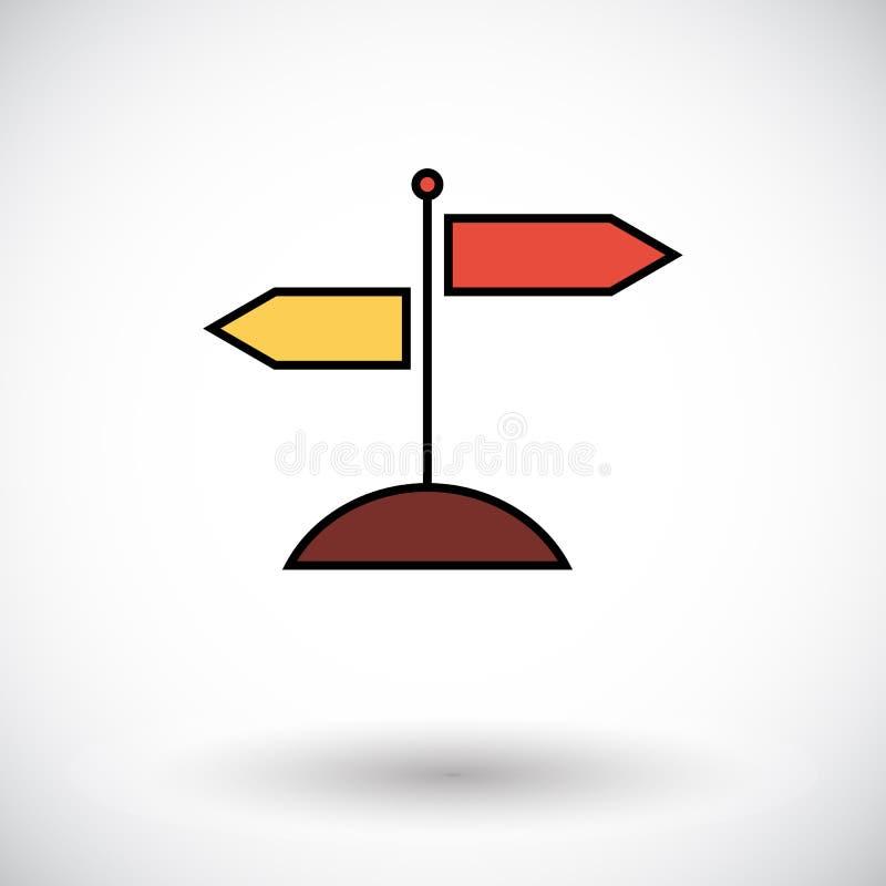 Signpost. stock illustration