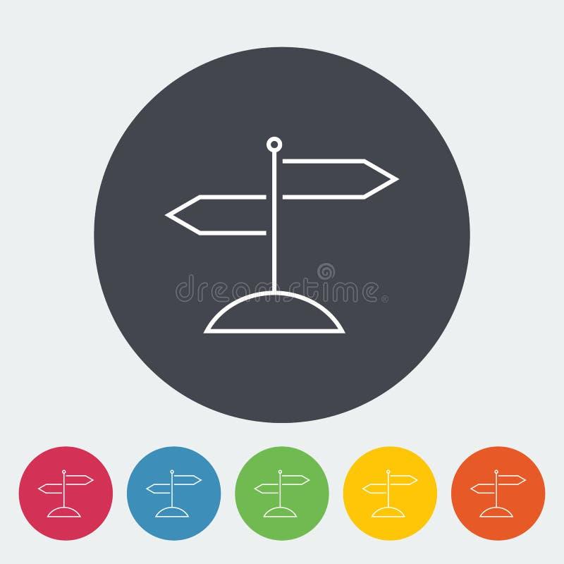 Signpost. vector illustration