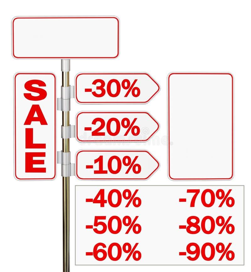 The signpost vector illustration