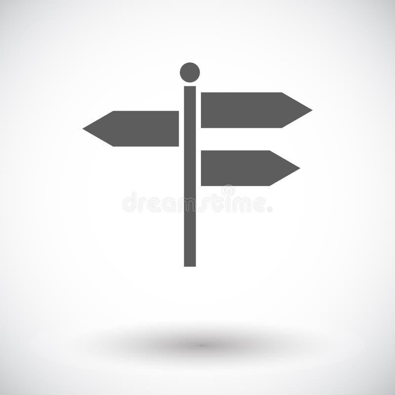 Signpost stock illustration