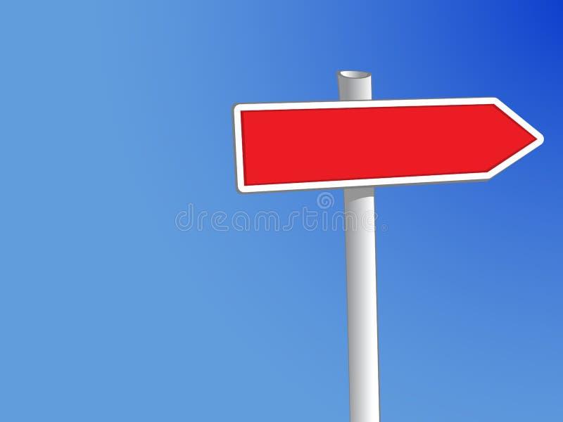 Signpost1 ilustração stock