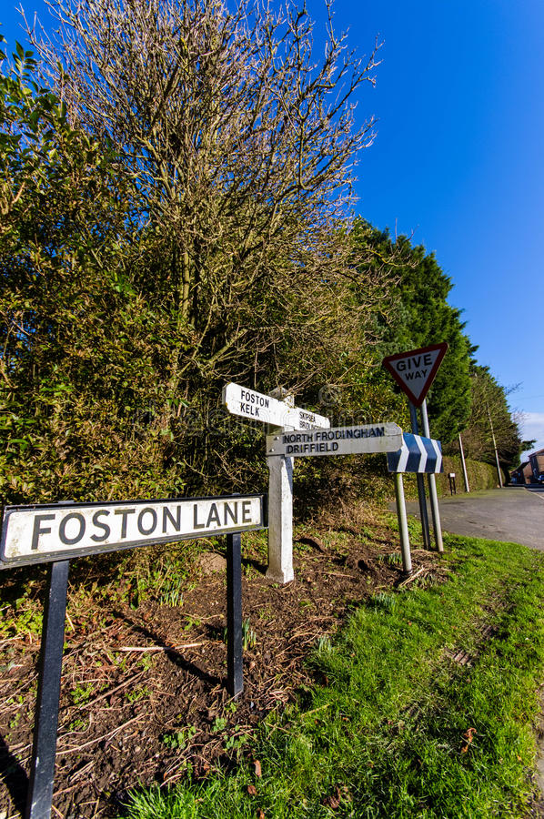 Download Signs stock image. Image of direction, path, sign, foston - 28977571