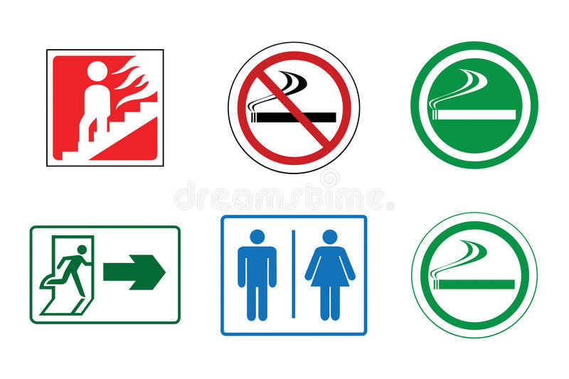 Signs royalty free stock photo